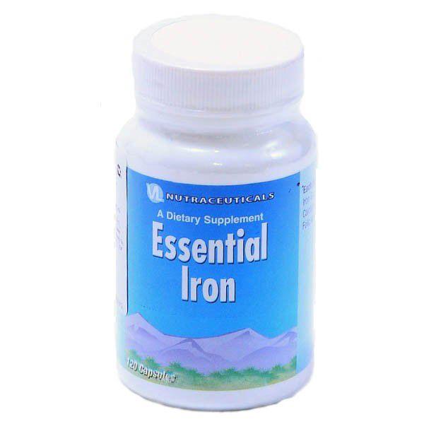 Железо эссенциальное, железо с витамином С (Essential Iron)